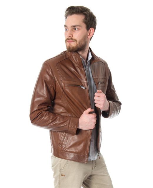 Turkish leather genuine leather jackets
