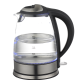 with water gauge on body automatically lid open electric kettle
