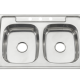stainless steel sink for kitchen, one piece stretch style