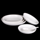 Hot sale melamine round plastic food plate,white fruit plate,dessert tray