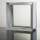 Decorative building material Frost bistar clear glass block
