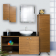 BATHROOM FURNITURES-CABINETS-CUPBOARDS
