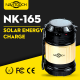 Dual Usage Portable Light Solar Recharge Camping Lantern (NK-165)