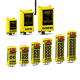 Remote Control Rechargeable crane controls,Visual and audible warning systems