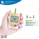 Newest Bluetooth Multifunction Blood glucose_Cholesterol_Uric acid_Hemoglobin Meter