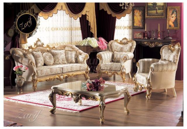 Classical Sofa Zarif