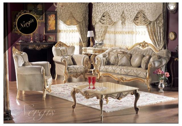 Classical Sofa Nergis