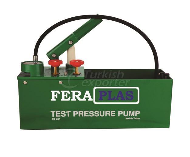 Test Pressure Pump