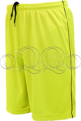 Neon Yellow Football Short