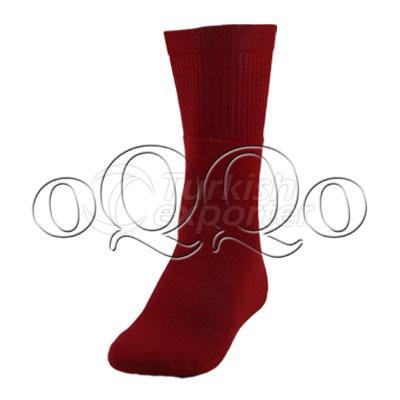 Red Volleyball Socks