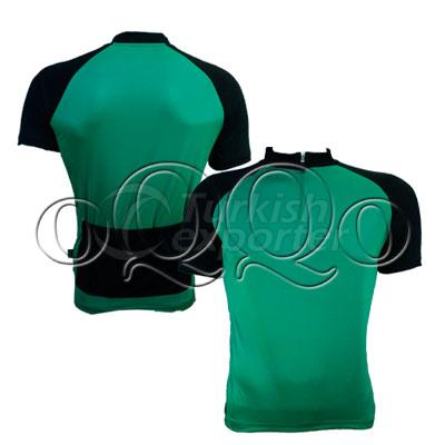 KCF001 Bicycle Uniform Green Black