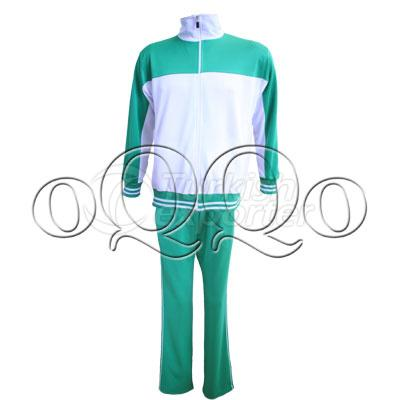 KET001 1706 Green White Sweats