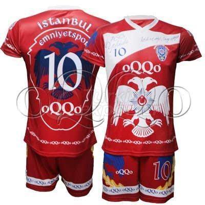 Woman Handball Uniform Red