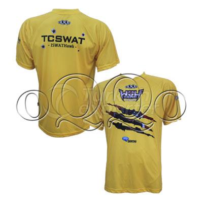 Wolfteam Special Design T-Shirt Yellow