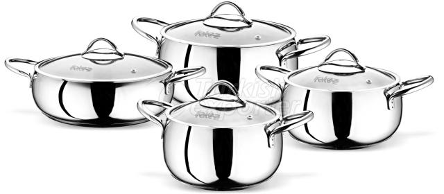 Moonshine stainless steel set