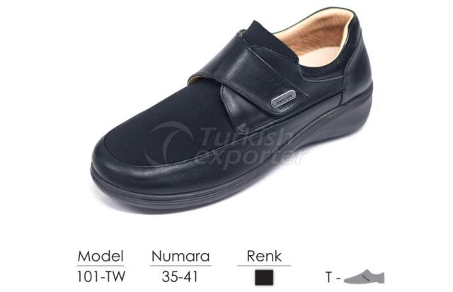Diabetic-Orthopedic Women Shoes 101TW