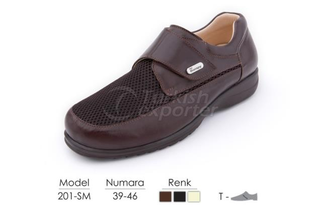 Diabetic-Orthopedic Man Shoes 201SM
