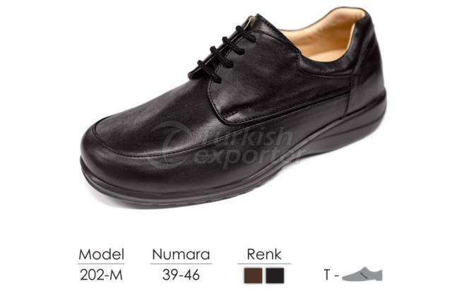 Diabetic-Orthopedic Man Shoes 202M