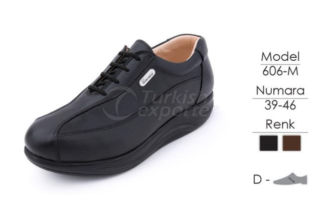 Diabetic-Orthopedic Man Shoes 606M