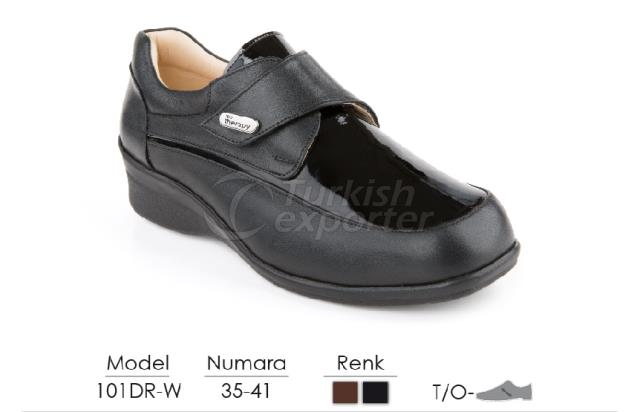 Diabetic-Orthopedic Women Shoes 101DR-W
