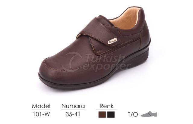 Diabetic-Orthopedic Women Shoes 101W