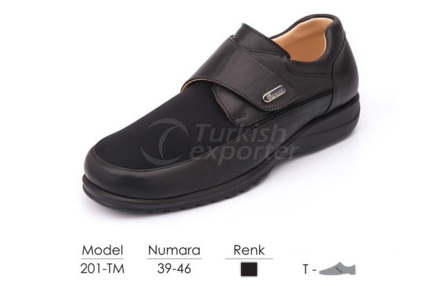 Diabetic-Orthopedic Man Shoes 201TM