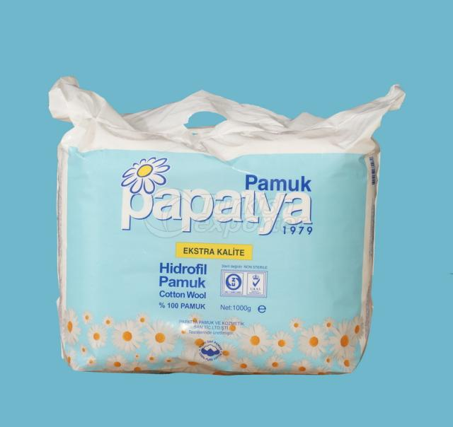 Absorbent Rolled Cotton 1000gr