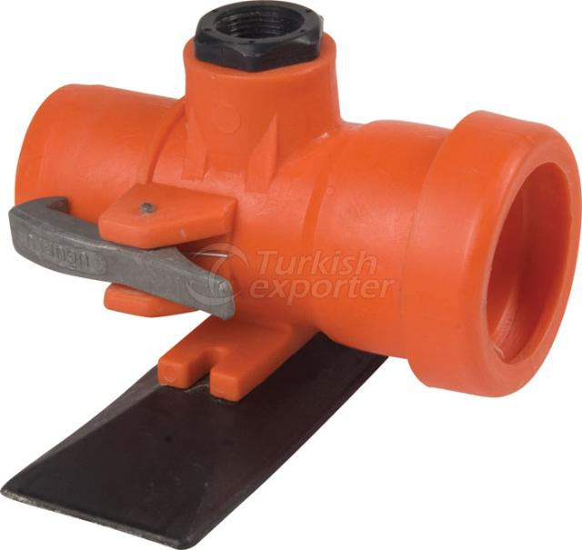Latch Type Irrigation Pipe