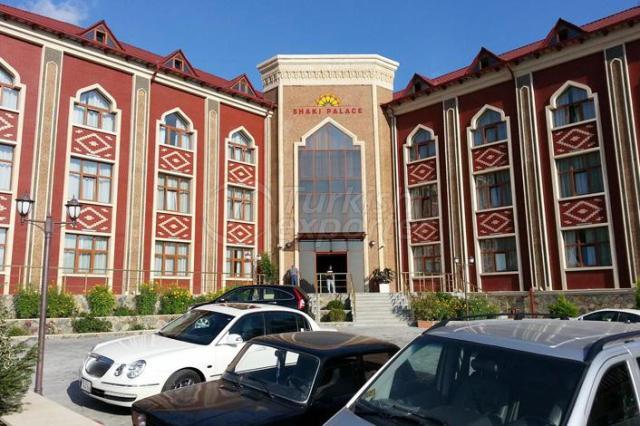 AZERBAYCAN SHAKI PALACE