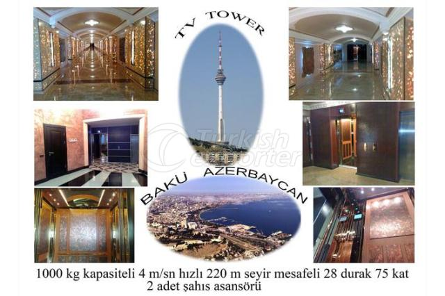 AZERBAIJAN TV TOWER
