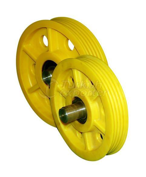 Deflection Pulleys