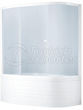 Corner Tub Enclosures Titan Art 2101
