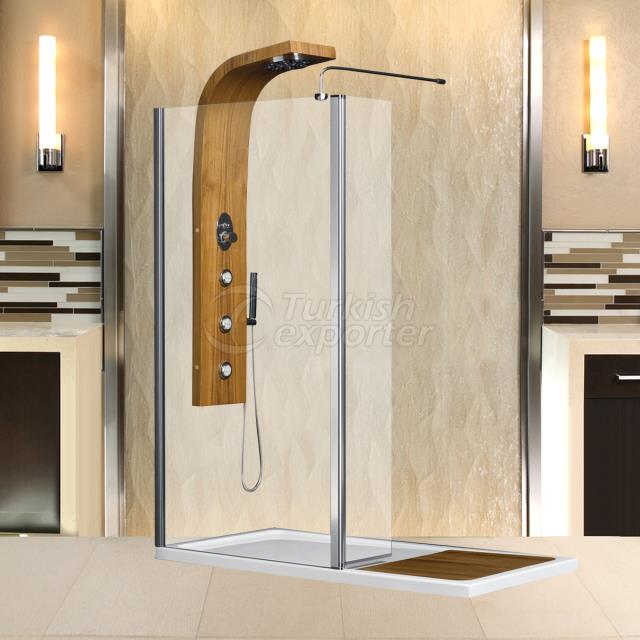 rectangular tub enclosures steam and massage shower systems dike - Bathtub Enclosures