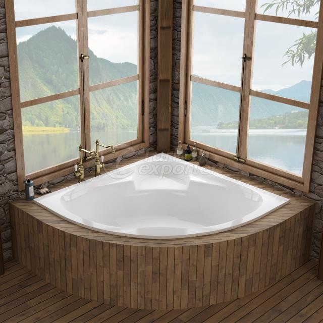 Corner Type Bathtub Zeugma