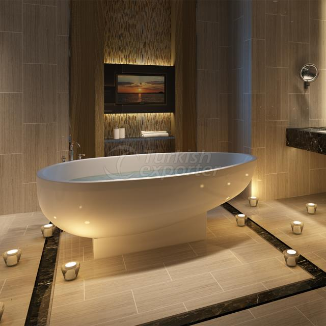 Oval Bathtub İkaros