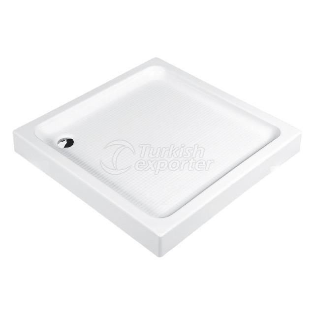 Square Shower Trays Monoblock