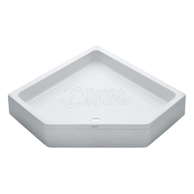 Special Shower Trays Pentagon