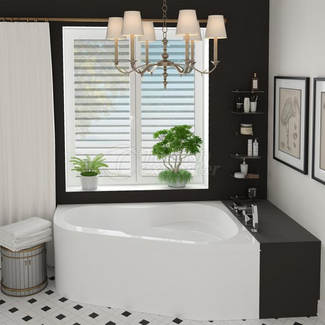 Corner Type Bathtub Nestor