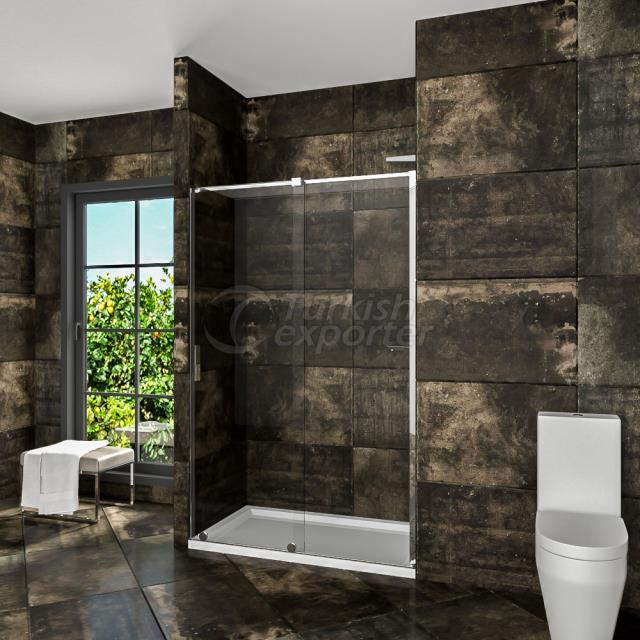 Shower Tray Enclosure Bendis Luxury 110