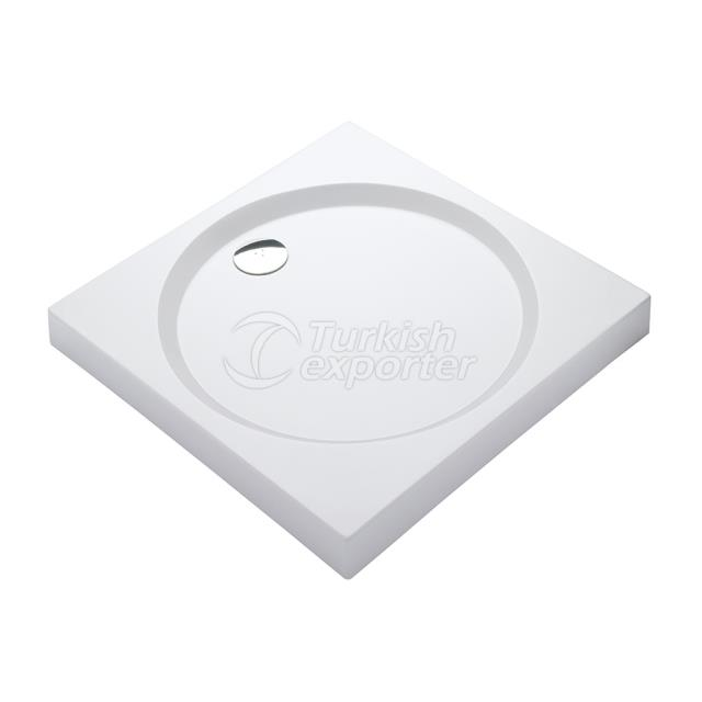 Square Shower Trays With Panel