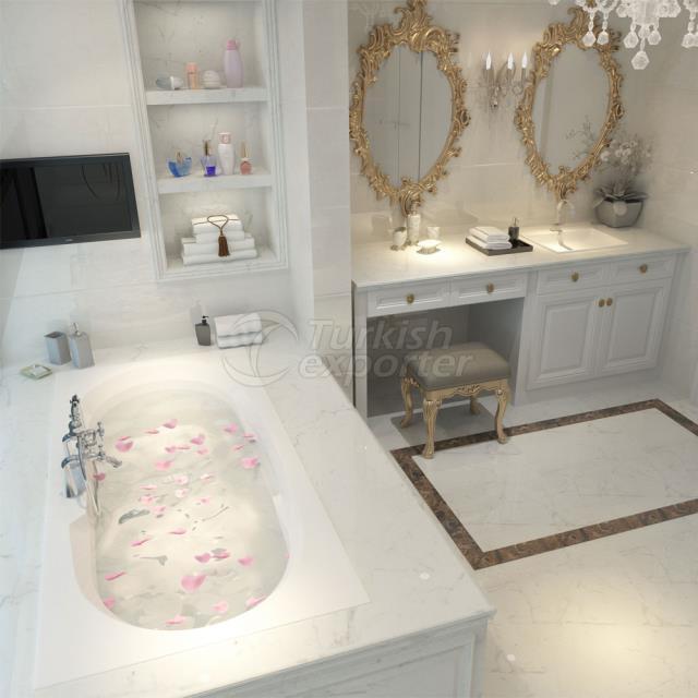 Rectangular Bathtub Ares