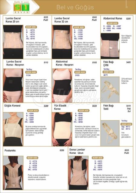 Medical Waist-Chest Products