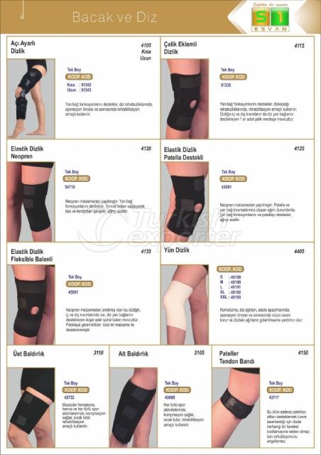 Medical Leg-Knee Products