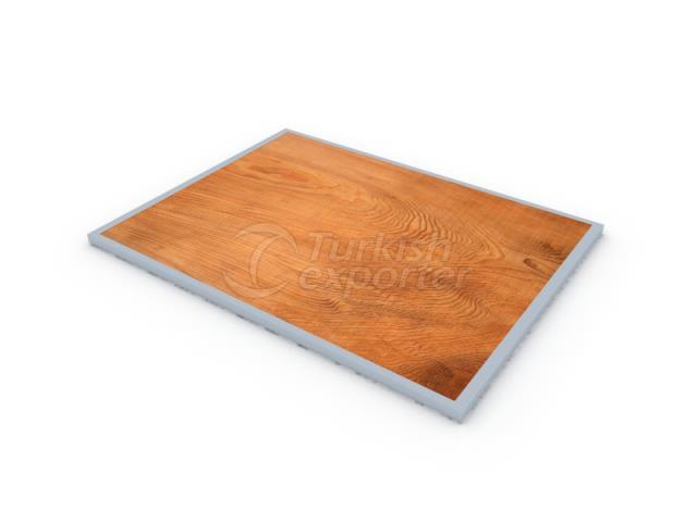 Steel Reinforced Wooden Palette