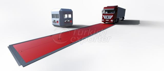 DMR Modular Type Pit Weighbridge