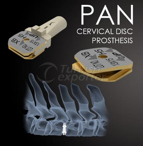 Cervical Disc Prosthesis Pan