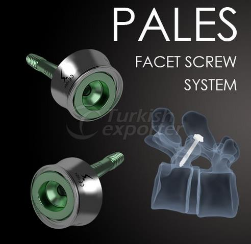 Facet Screw System Pales