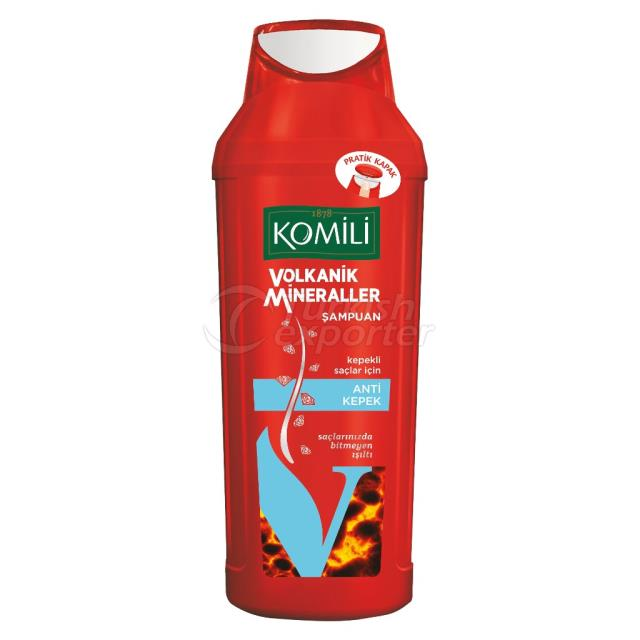 Shampoo Volkanik Mineraller