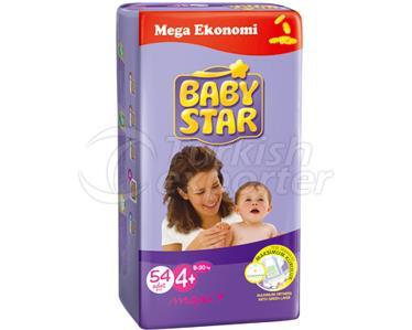 Baby Diaper Babystar Maxi