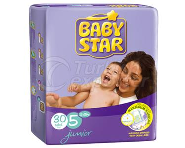 Baby Diaper BabyStar Junior